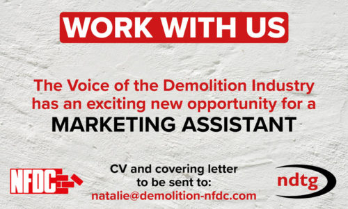 WORK WITH US. New Opportunity for Marketing Assistant