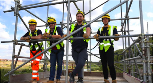 Demolition 'Trailblazer' Apprentices Reach New Heights
