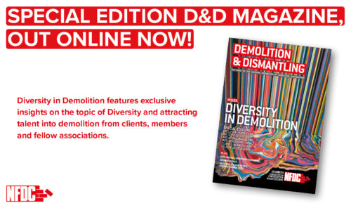 Special Edition Magazine: Diversity in Demolition Out Online Now!