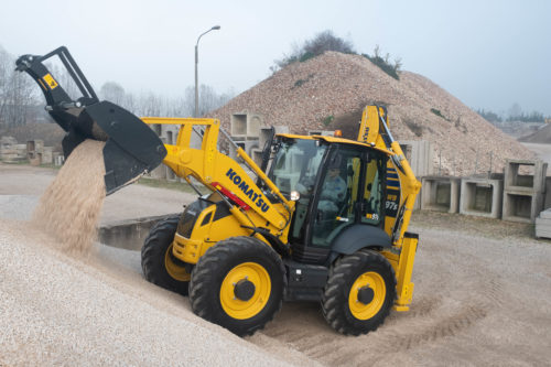 Introducing the new Komatsu WB97S-8 Backhoe Loader