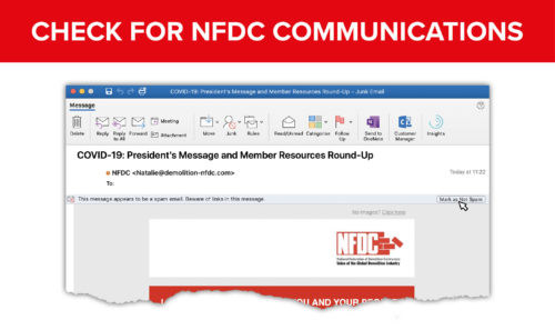 Check for NFDC Communications