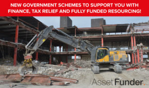 New Government Schemes to Support You with Finance, Tax Relief and Fully Funded Resourcing!