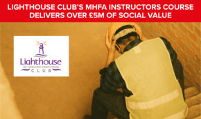 Mental Health First Aid Instructors Programme delivers £5.5million of Social Value to Society